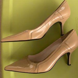 Nine & Company Nude Heels Womens 11